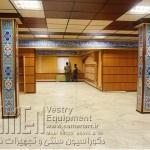 دیوارپوش چوبی درمساجد