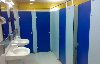 پارتیشن سرویس بهداشتی دستشویی